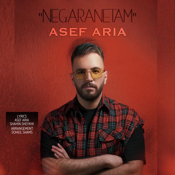 Asef Aria - Negaranetam Song   آصف آریا نگرانتم'