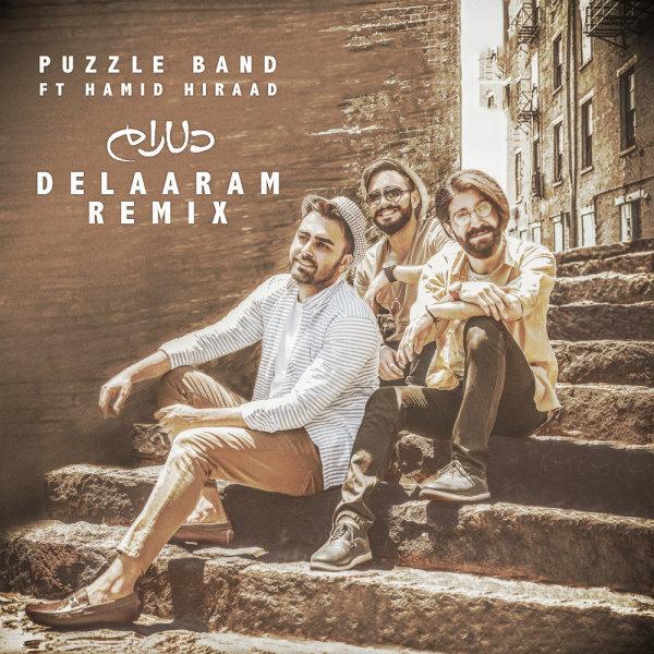 Puzzle - Delaaram (Ft Hamid Hiraad) Remix Song   پازل دلارام حمید هیراد ریمیکس'
