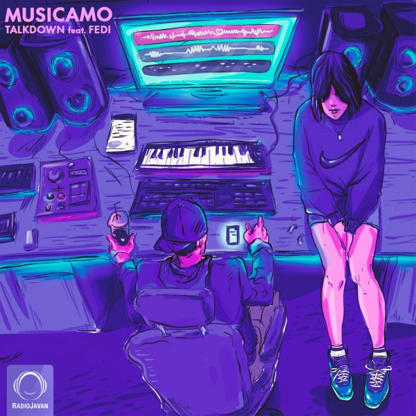 Talk Down - Musicamo (Ft Fedi) Song | تاک داون موزیکام فدی'